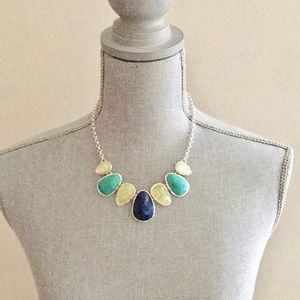 Charter Club Macy's Faux Stone Statement Necklace